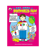 The Big Book of Phonics Fun Resource Book