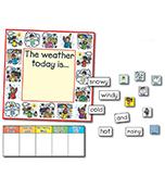 Weather: Kid-Drawn Bulletin Board Set