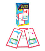 U.S. States & Capitals Flash Cards Product Image
