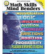 Math Skills Mind Benders Resource Book Product Image
