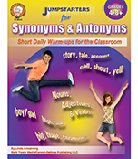 Jumpstarters for Synonyms and Antonyms Resource Book