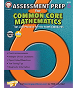 Assessment Prep for Common Core Mathematics Resource Book