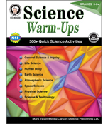Science Warm-Ups Resource Book Product Image