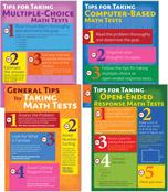 Math Testing Tips Bulletin Board Set Product Image