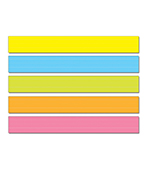 Lined Multicolored Sentence Strips Product Image