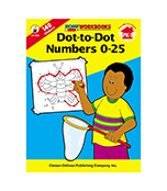 Dot-To-Dot Numbers 0-25 Workbook