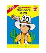 Numbers 0-20 Workbook