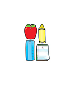 School Tools Cut-Outs Product Image