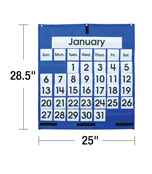 Monthly Calendar Pocket Chart Product Image