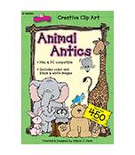 Animal Antics Clip Art