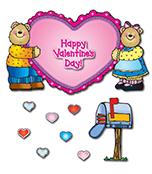 Here's My Heart Bears Bulletin Board Set