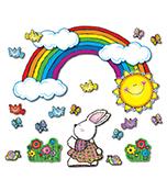 Sun 'n Rainbow Bulletin Board Set