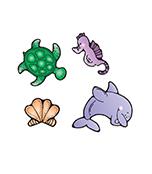 Sea Life Cut-Outs