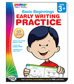 Early Writing Practice Workbook Product Image