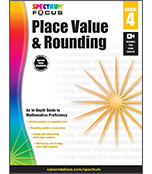 Spectrum Focus: Place Value and Rounding Workbook Product Image