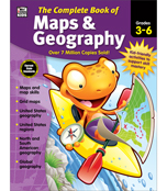 The Complete Book of Maps & Geography Workbook Product Image