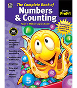 The Complete Book of Numbers & Counting Workbook Product Image