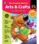 The Complete Book of Arts & Crafts Workbook Product Image