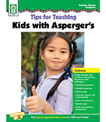 Tips for Teaching Kids with Asperger's Resource Book Product Image