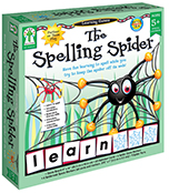 The Spelling Spider  Board Game