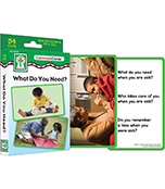 What Do You Need? Learning Cards Product Image