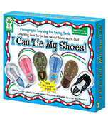 I Can Tie My Shoes Lacing Cards Product Image