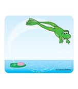 Frog Name Tags