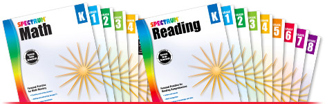 Spectrum Subject-Specific Workbooks
