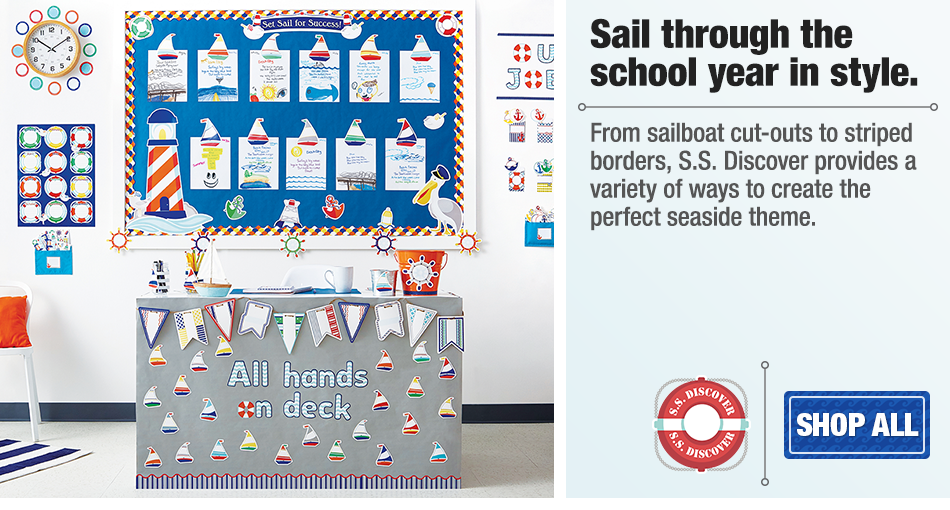S.S. Discover Classroom Collection