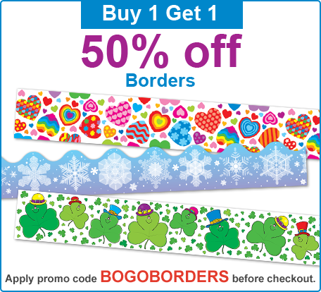 Buy 1 Get 1 50% Off Borders Promotion