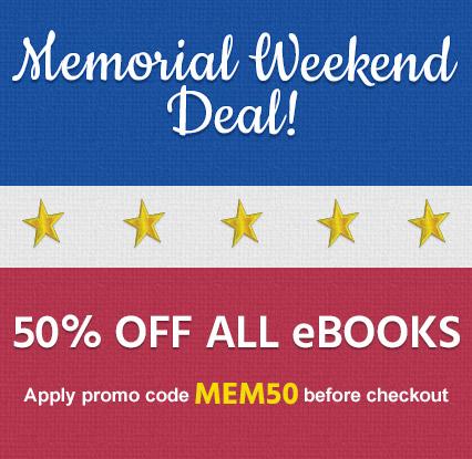 50% off ALL eBooks