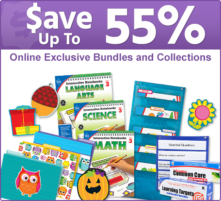 Save up to 55% on Online Exclusive Bundles and Collections