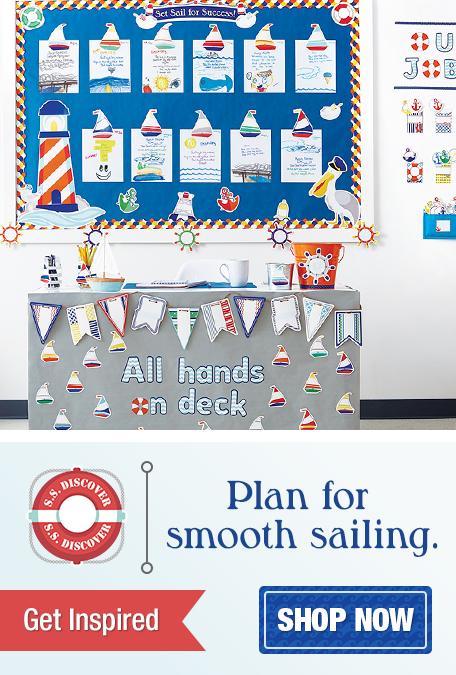 S.S. Discover Classroom Decorations