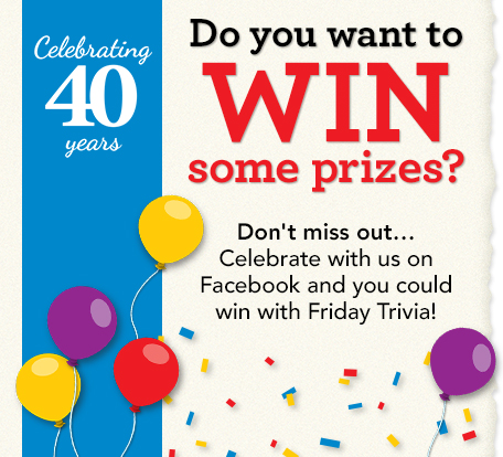 Win Prizes on facebook