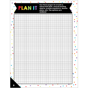 celebrate learning teacher planner graphing pages