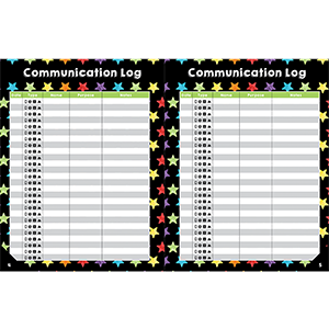 celebrate learning teacher planner communication log