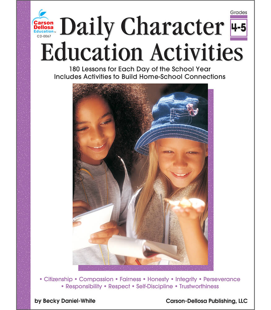Daily Character Education Activities Resource Book Product Image