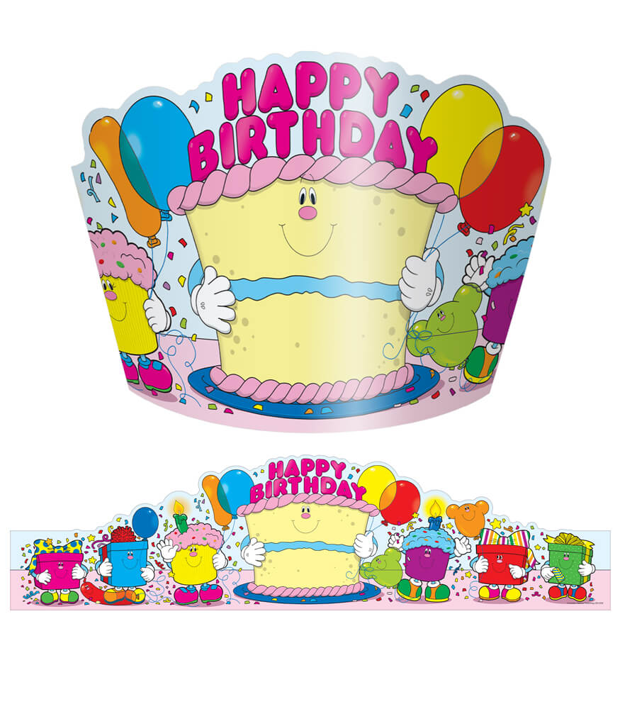 Happy Birthday Crowns Product Image