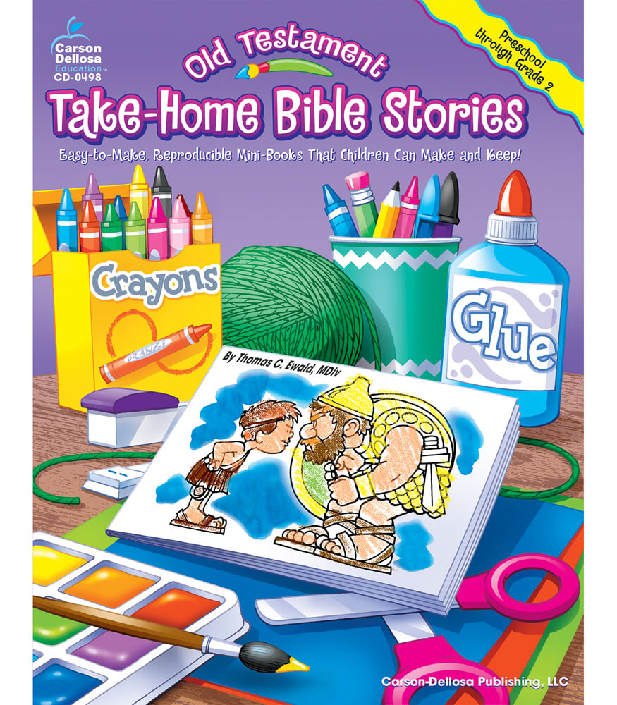 Old Testament Take-Home Bible Stories Resource Book Product Image