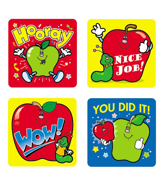 Apples Motivational Stickers Product Image