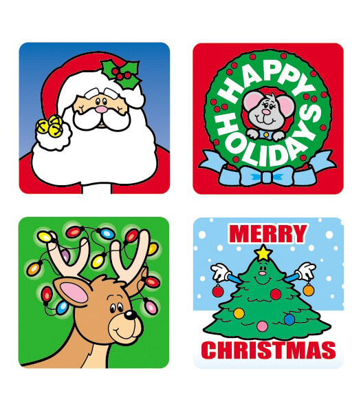 Christmas Motivational Stickers Product Image