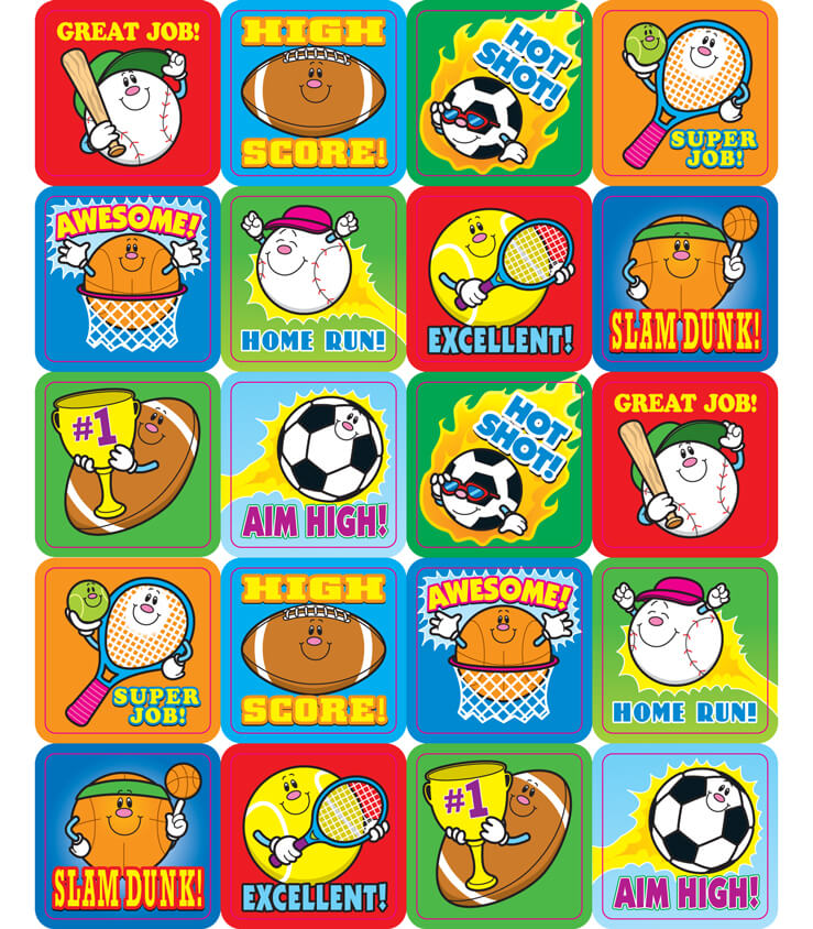 Sports Motivational Stickers Product Image