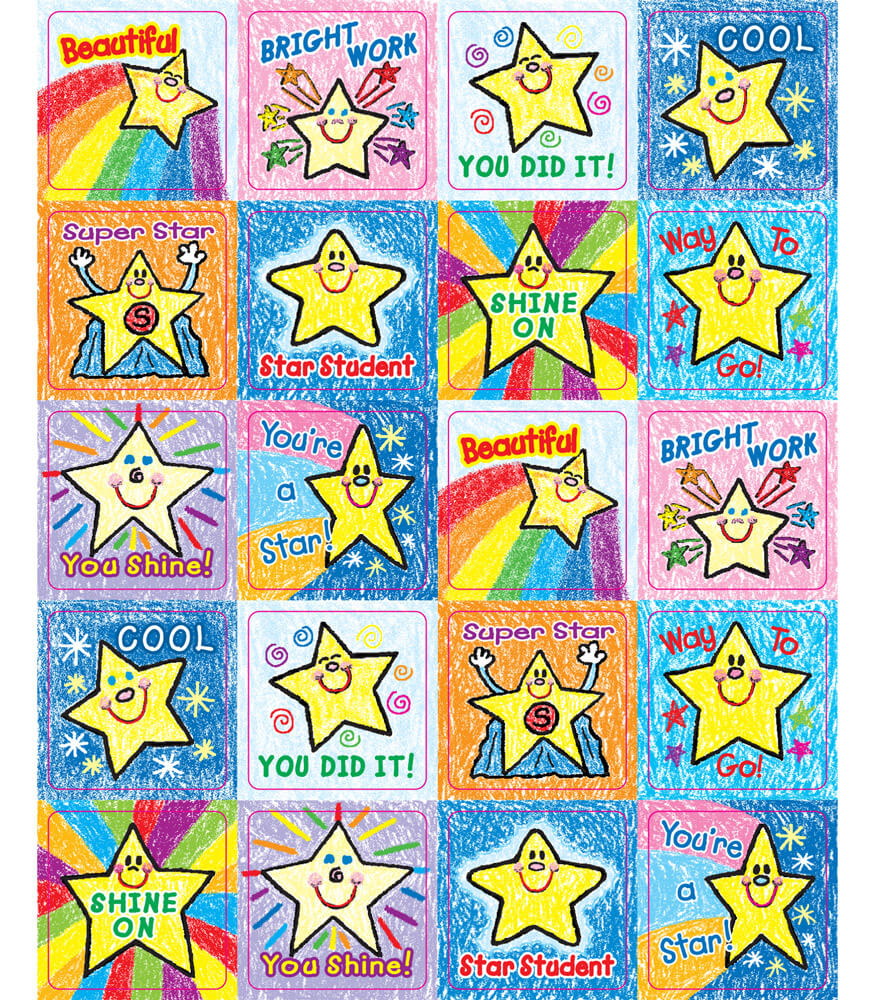 Stars Motivational Stickers Product Image