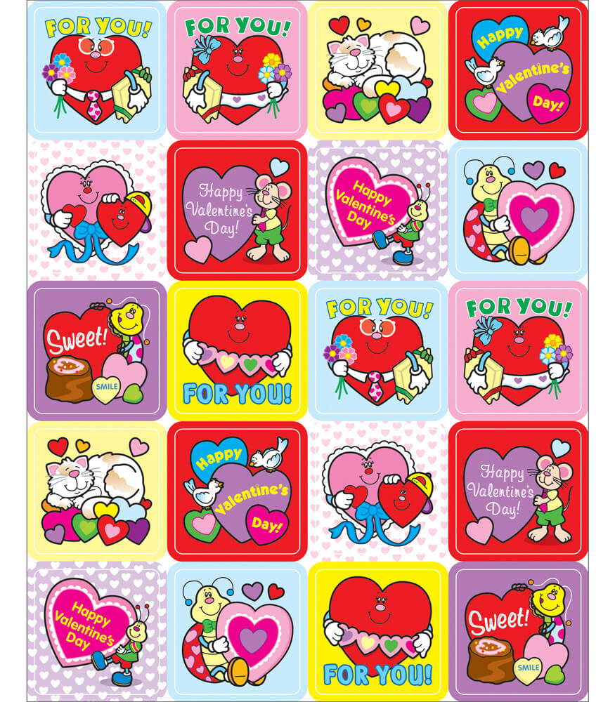 Valentine's Day Motivational Stickers