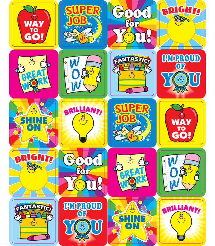 Winning Words Motivational Stickers Product Image