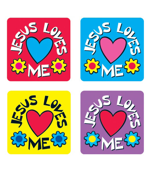 Jesus Loves Me Sticker Pack Product Image