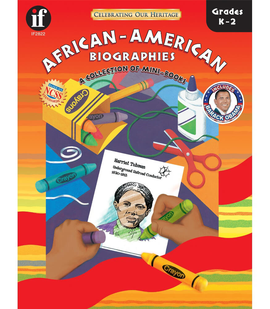 African-American Biographies Resource Book Product Image