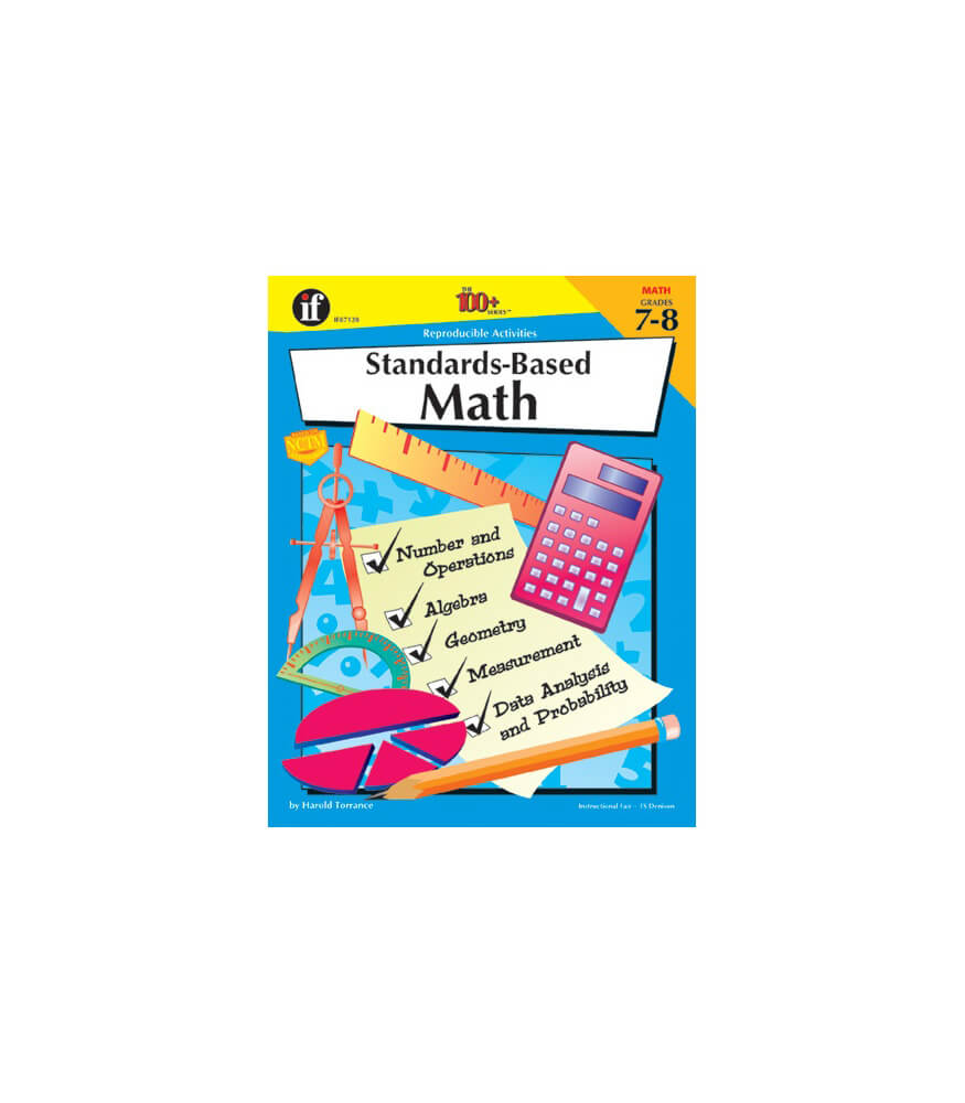 Standards-Based Math Workbook Product Image