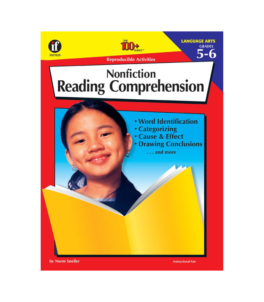 Nonfiction Reading Comprehension Workbook Product Image