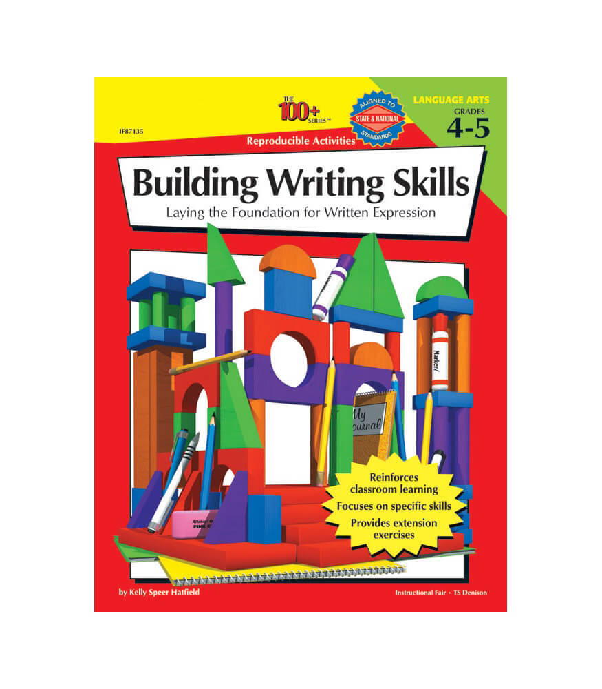 The 100+ Series Building Writing Skills Workbook Product Image